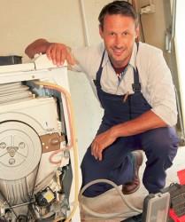 Išardyta skalbimo mašina